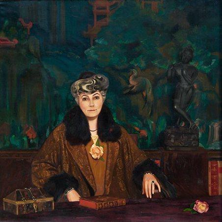 С.Н.Рерих. Портрет Е.И.Рерих, 1937г.