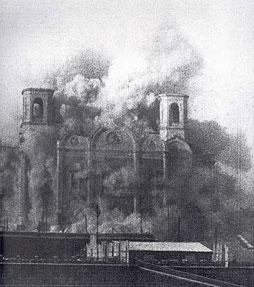 Разрушение Храма Христа Спасителя в Москве