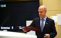 заместитель председателя Комитета СФ по международным делам Александр Бабаков