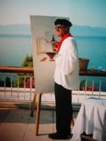 14 juillet Club Med Grégolimano, ile d'Eubée, Grèce