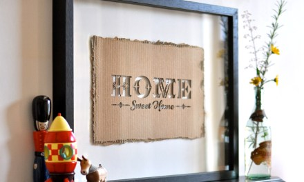 50/50 PROJECT NO.1: HOME SWEET HOME.