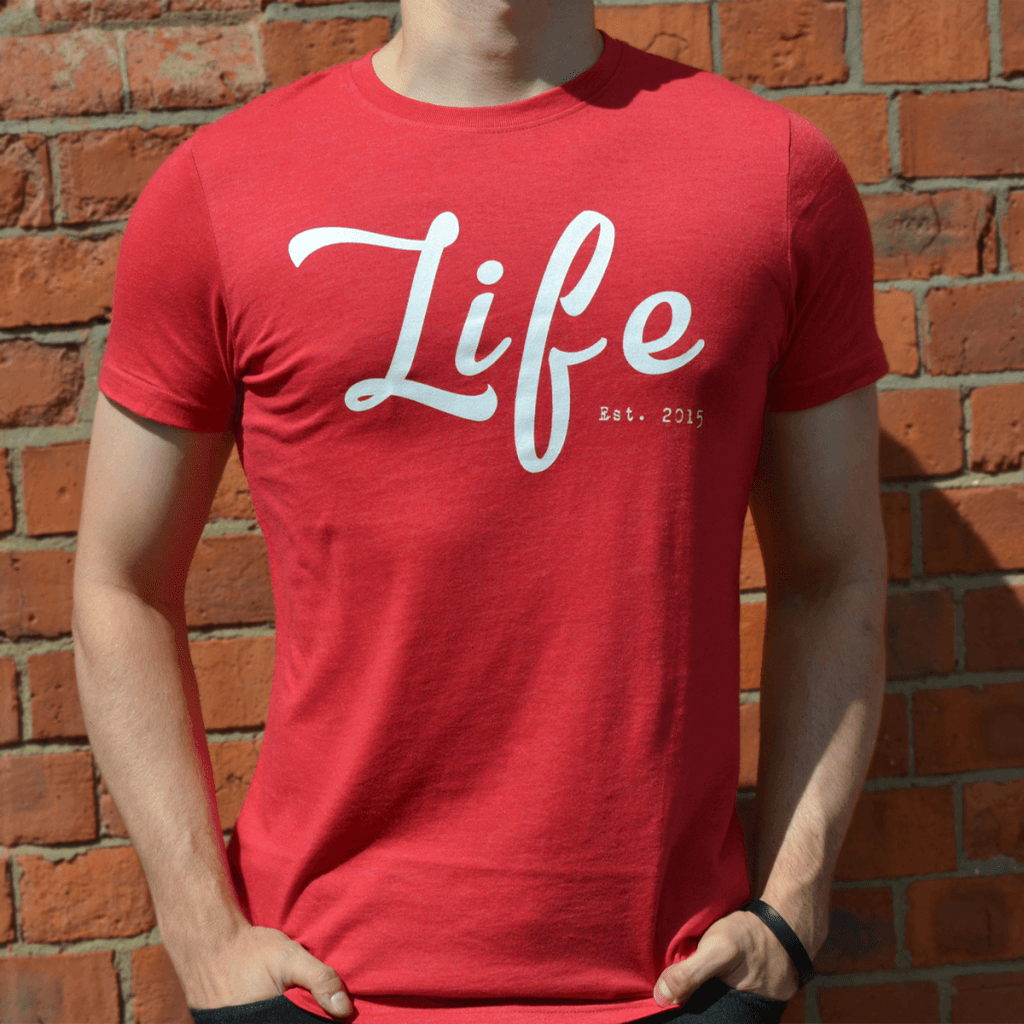 life-red-mens-product