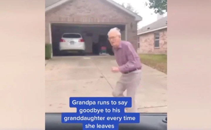 Find Someone Who Loves You Like This Grandpa Loves His Granddaughter