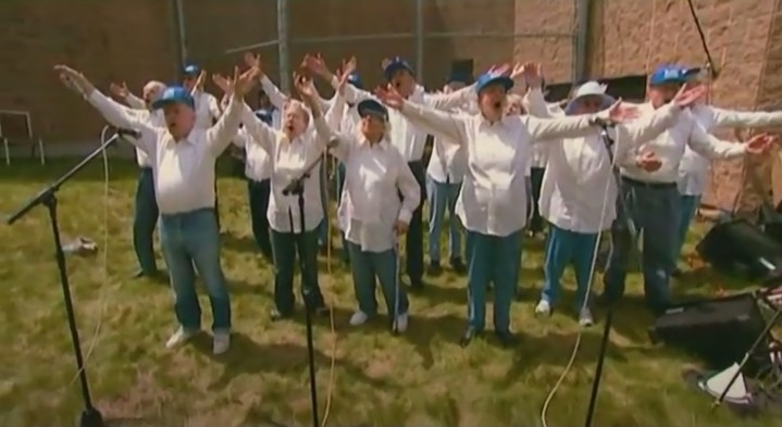 Senior Citizens Singing The Ramones, Talking Heads, and More