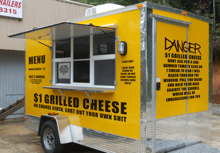 $1 Grilled Cheese Truck