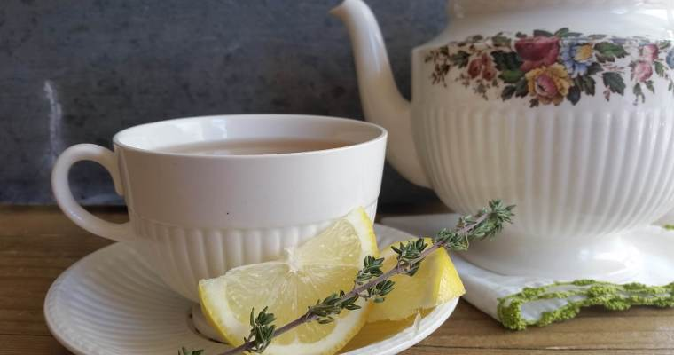 Thyme Tea Recipe with Honey