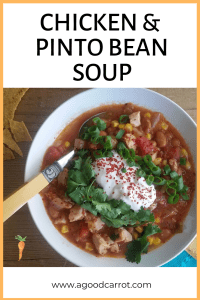 homemade chicken soup, Chicken and Pinto Bean Soup Recipe, Weekly Meal Plans, Clean Eating Recipes, Healthy Dinner Recipes, Recipes for Dinner