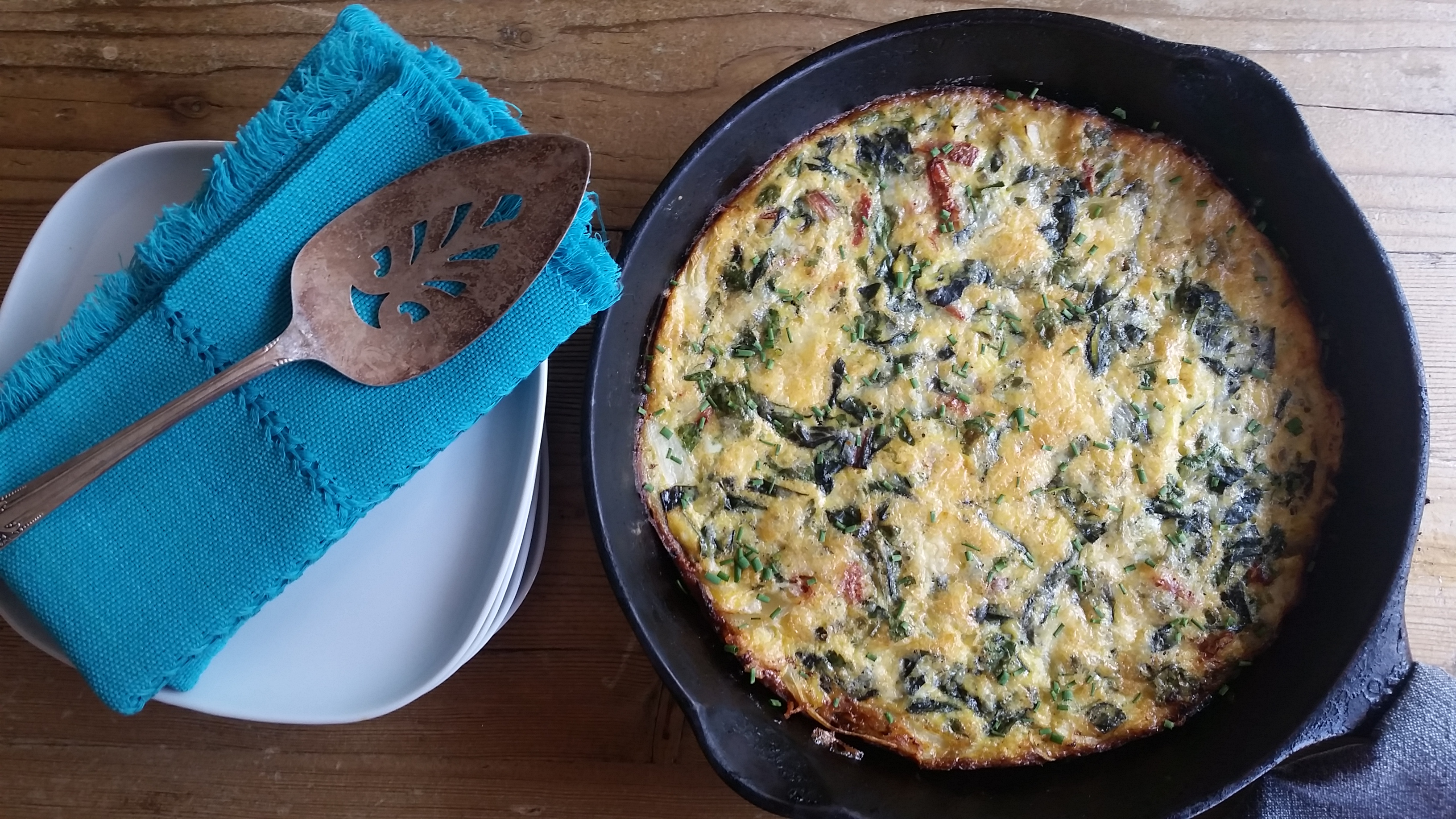 Green Power Frittata
