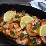 Easy Shrimp Recipe Garlic and Lemon Zest