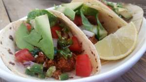 Vegetarian Taco Recipe Mushroom Walnut Tacos