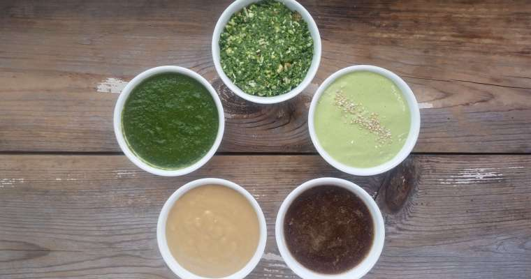 5 Simple Salad Dressing Recipes