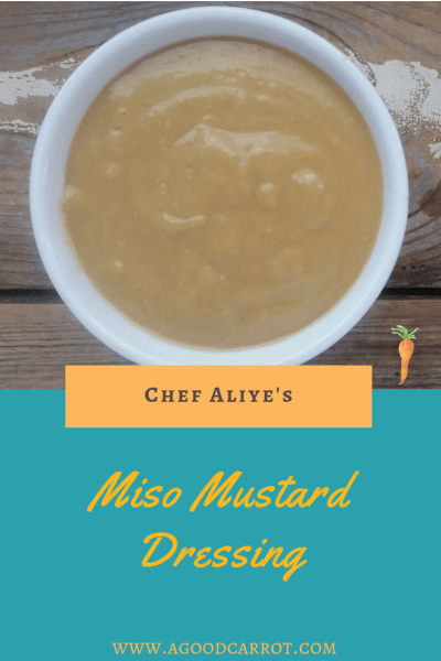 miso mustard dressing recipe, miso recipes, miso dressing recipe, miso dressing salad