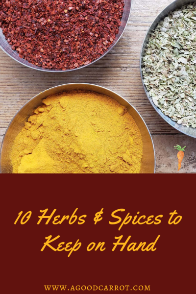 Spices to keep on hand, how to use spices, mediterranean spices, middle eastern spices