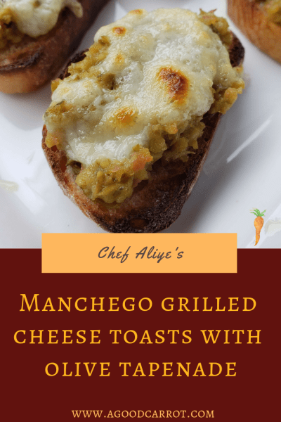 manchego grilled cheese toasts, appetizers for party