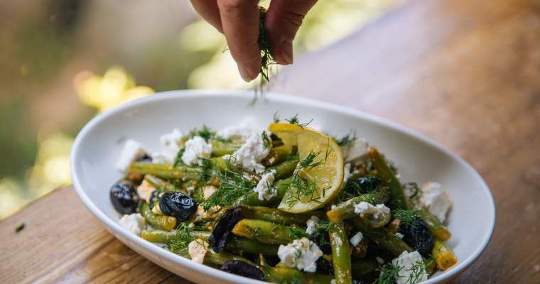 Mediterranean Green Beans with Fresh Dill and Olives