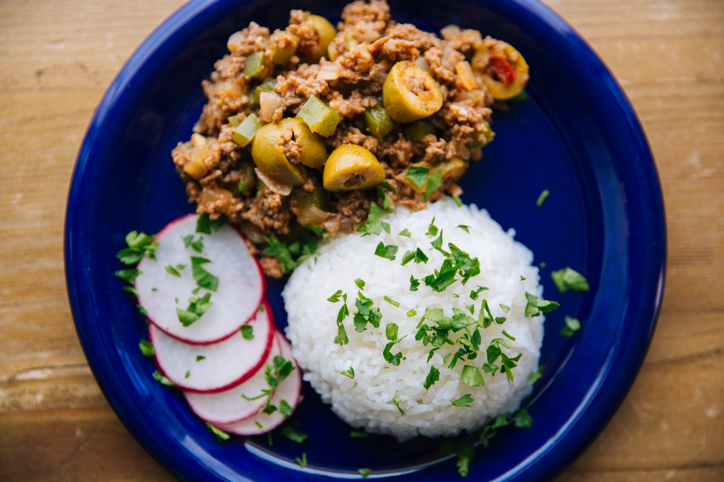 Cuban Picadillo (ground beef)