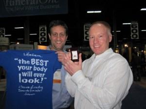 Greg Herro and Dean VandenDiesen with LifeGem
