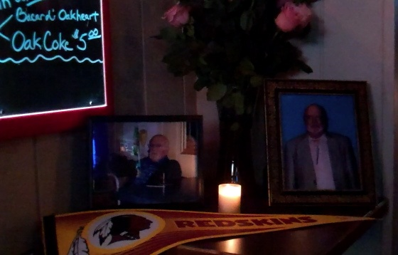 Memorial tableau for Howard Strunk