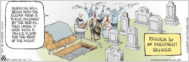 Non Sequitur Cemetery Party