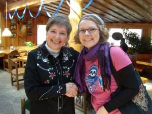 Gail Rubin and Stephanie Arnett