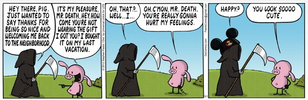 Mr. Death and Pig