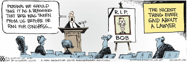 Bob the Lawyer Funeral