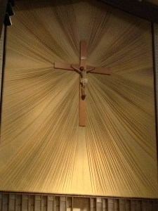 Holy Family Church crucifix