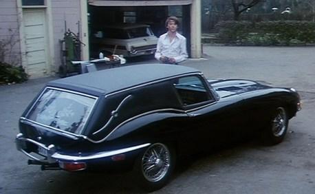 Harold's Jaguar mini-hearse