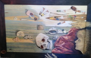 Dead Painter Painting