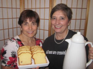 Mindi Horwitch and Gail Rubin, Death Cafe Hostesses