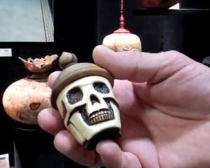 Artistic Wood Urns
