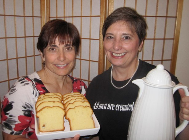 Mindi Horwitch, LISW, and Gail Rubin, A Good Goodbye, welcome you to the Albuquerque Death Cafe!