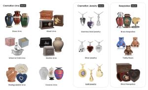 Cremation Urns, Jewelry, Keepsakes