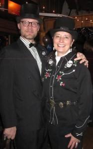 2013: Nederland Mayor Joe Gierlach and Gail Rubin