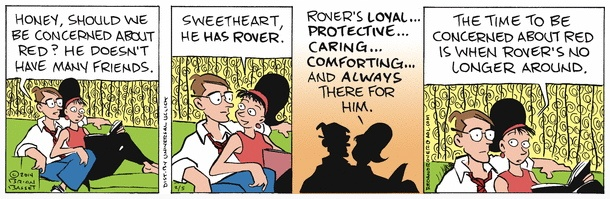 Red and Rover cartoon