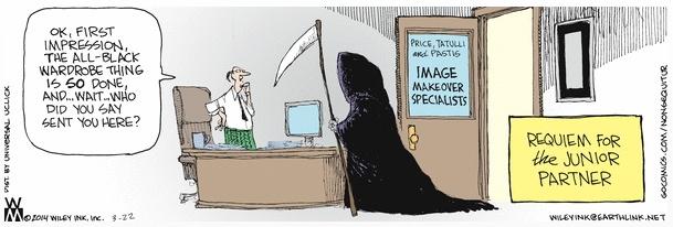 Non Sequitur Grim Reaper Makeover