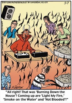 Close to Home Death Cartoon Disco Hell