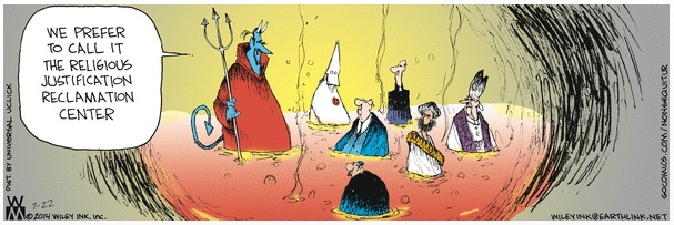 Non Sequitur Religions in Hell