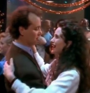 Groundhog Day: Bill Murray and Andie MacDowell