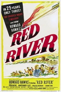 Red River poster