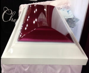 Cherokee dual color casket