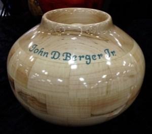 John Berger Hardwood Containers