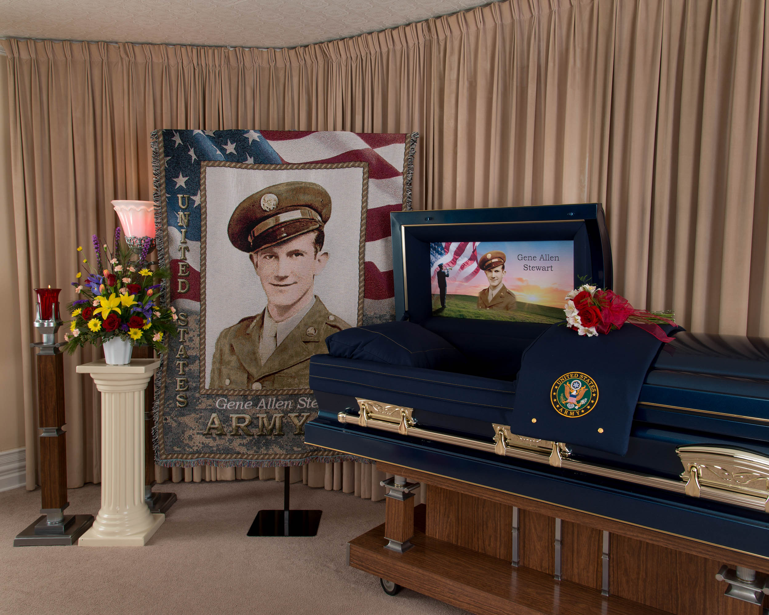 Funeral Home Ts Cap Panels And Tribute Blankets