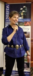 Gail speaking at NHFDA