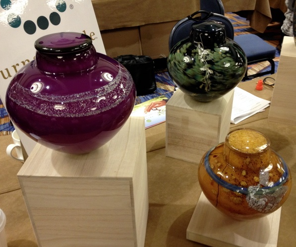 Urns in Style Glass 3