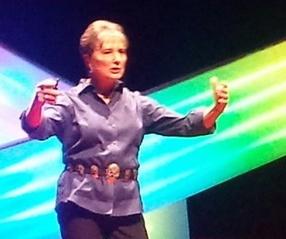 Gail Rubin speaking at TEDxABQ