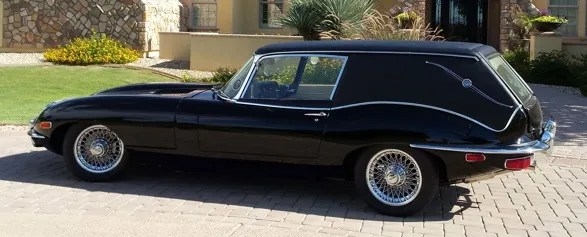 A Real Jaguar Hearse From Harold And Maude A Good Goodbye