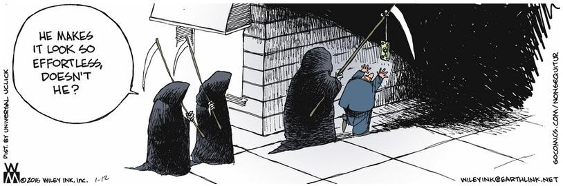 Non Sequitur Grim Reaper Dollar