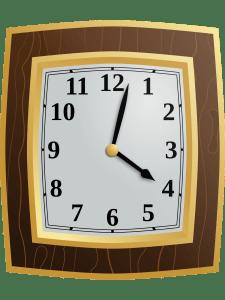 Clock at 4:02