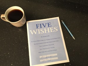 Five Wishes Form